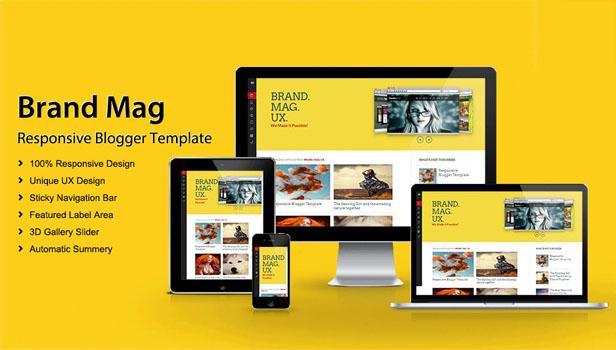 memilih template blog
