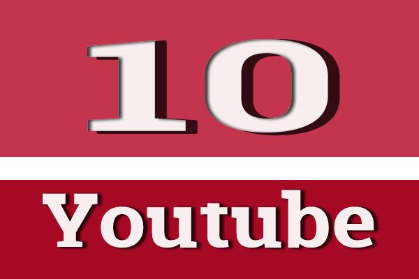 10 video yang menghasilkan di youtube