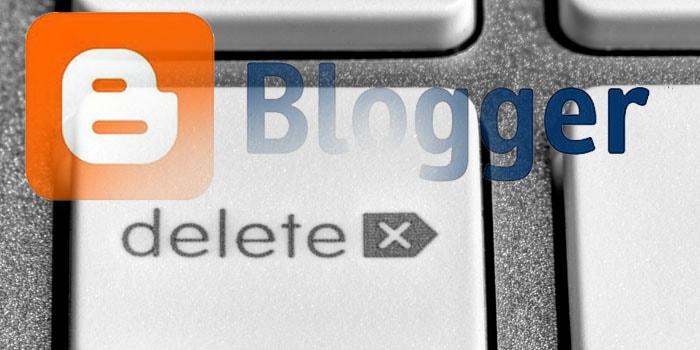 Penyebab blog di hapus google