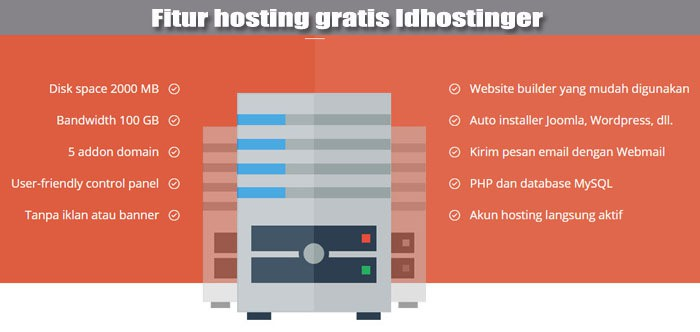 hosting gratis terbaik