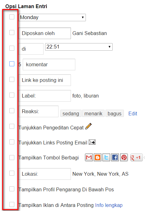 Menghilangkan Tanggal Posting Blog