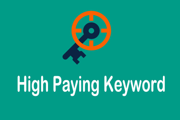 high paying keyword