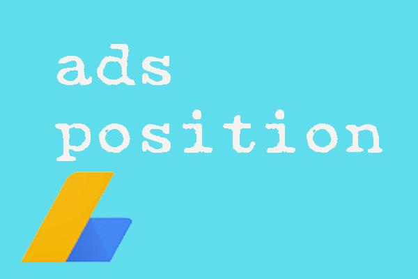 penempatan iklan adsense