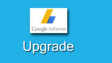 upgrade adsense