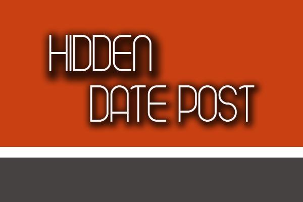 menghilangkan tanggal posting