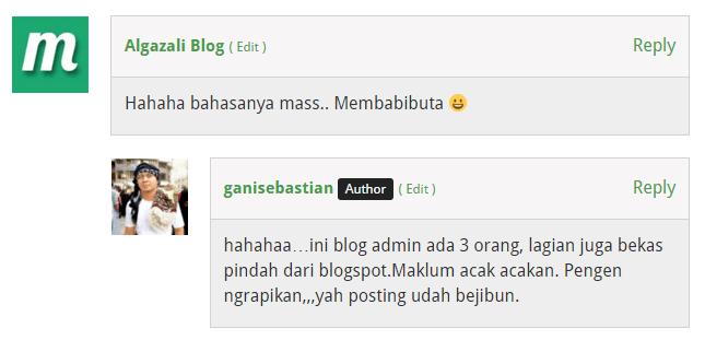 pengunjung meninggalkan blog