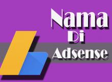 daftar adsense dengan nama panjang