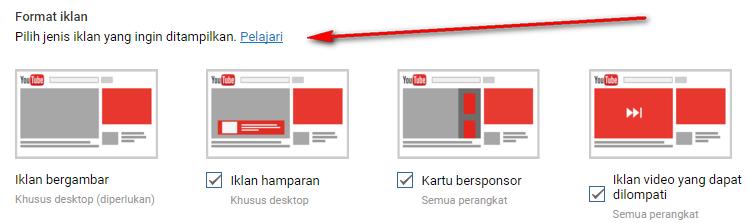 jenis iklan youtube