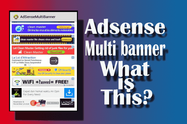 adsense multi banner