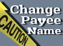 mengubah nama pembayaran adsense