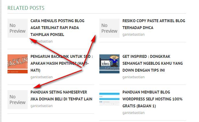 mengganti gambar thumbnail