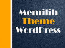 memilih theme wordpress