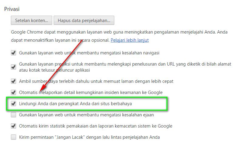 fitur khusus google chrome
