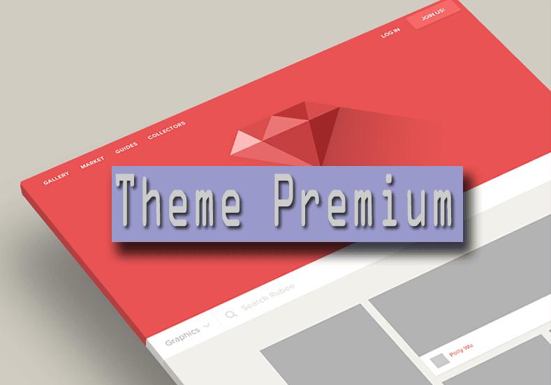 fitur theme premium