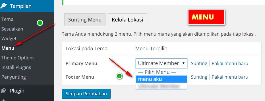 Membuat halaman register