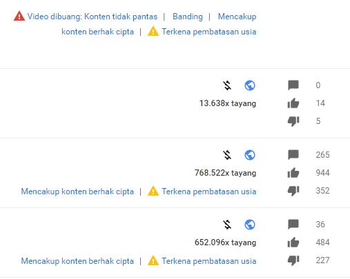 video yang aman di upload ke youtube