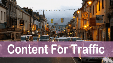 konten yang menghasilkan trafik