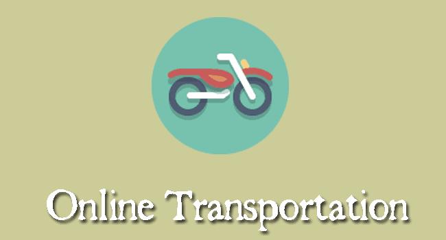 kemudahan transportasi online
