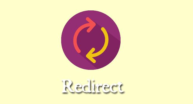 Membuat redirect