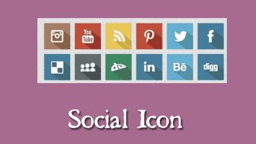 Membuat Social Icon