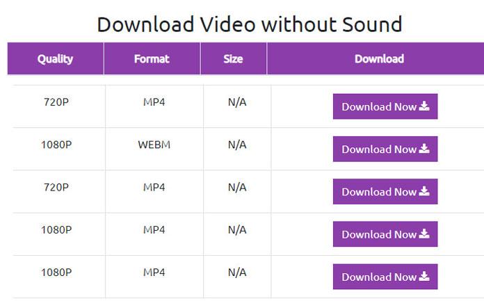 youtube downloader no sound
