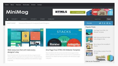 wordpress converted blogger templates