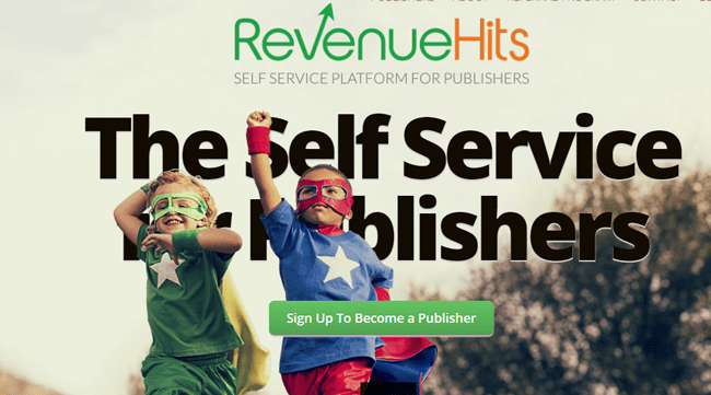Mendapatkan Dolar Di RevenueHits