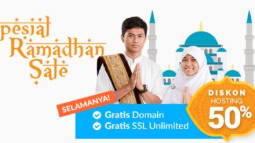 Promo Domain dan Hosting