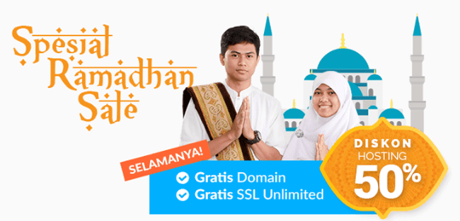 Promo Domain dan Hosting