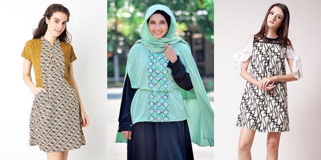 memilih baju batik