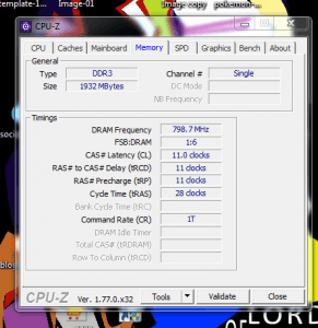 cara mendeteksi jenis ddr yang dipergunakan oleh RAM