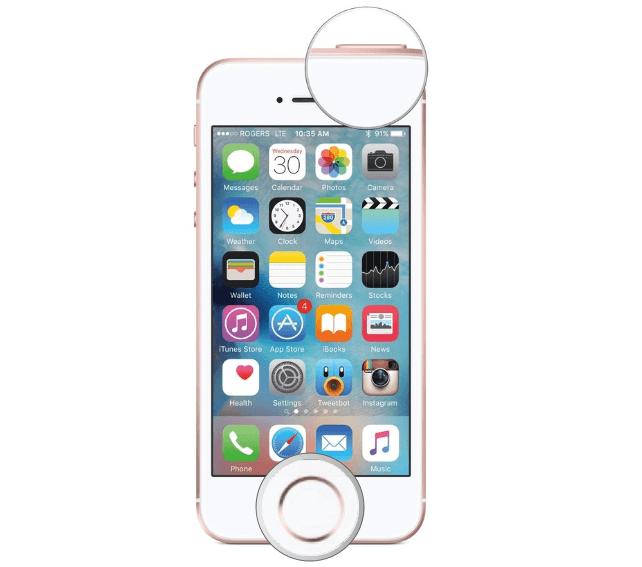Screenshoot-di-iPhone