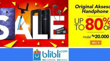 Pembelian handphone di Blibli.com