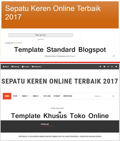template-standard-dan-template-khusus-toko-online