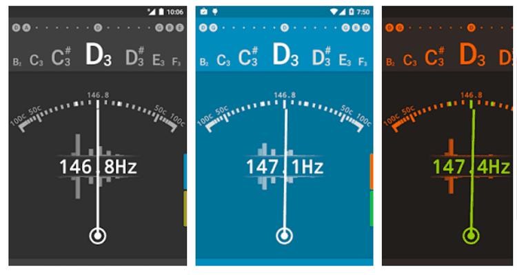 Aplikasi Android untuk Menyetel Gitar