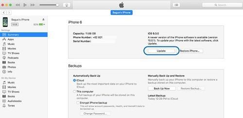 update iOS 10