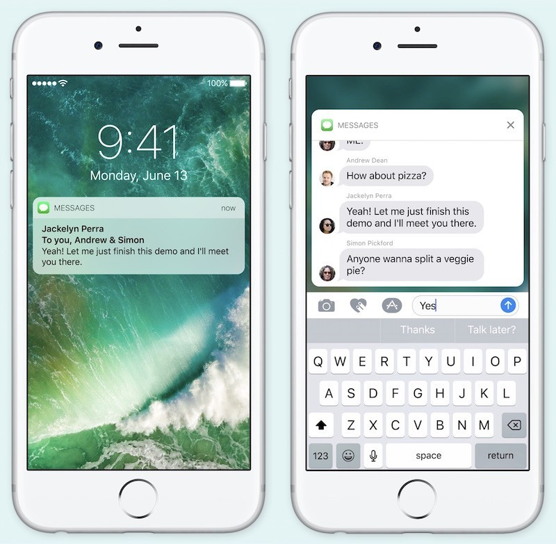 Fitur di iOS 10