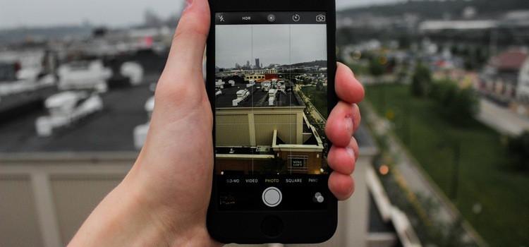 screenshot menggunakan iPhone