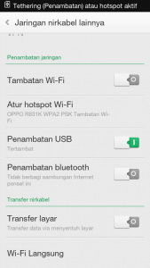 setting-modem-android