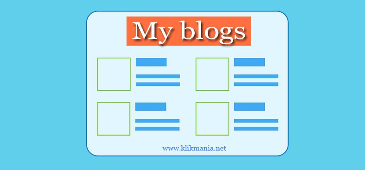 kelebihan dan kekurangan memiliki banyak blog