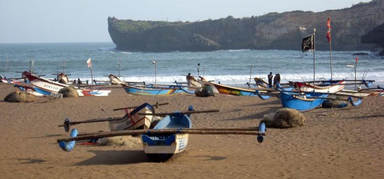 Pantai di Yogyakarta