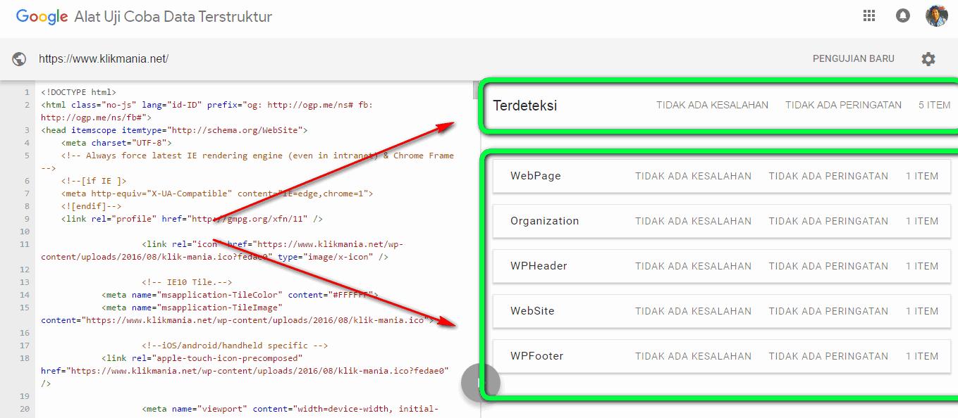 pengertian sitelinks