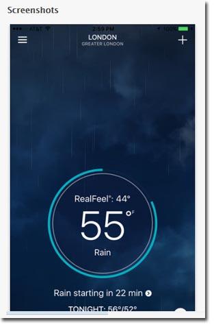 Aplikasi Perkiraan Cuaca