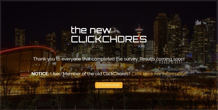 Mendapatkan Tambahan Penghasilan dari Situs Micro Jobs Kelima - Clickchores.com