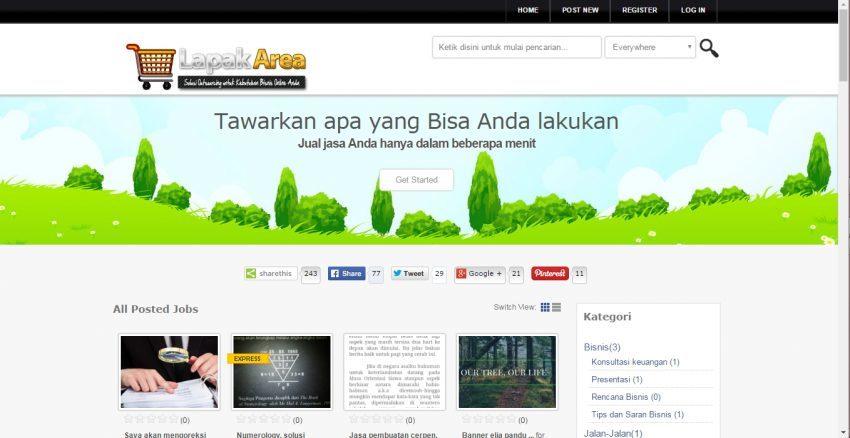 Mendapatkan Tambahan Penghasilan dari Situs Micro Jobs Kedua - LapakArea.com