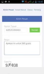 aplikasi Sms gratis unlimited