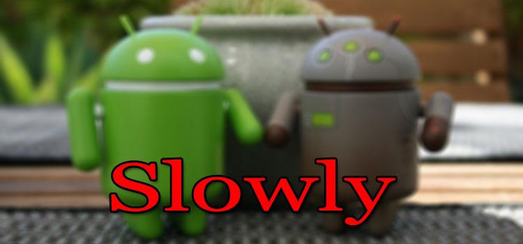 Smartphone Android sangat lambat