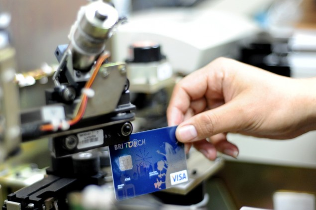 Kartu Kredit BRI Touch (Foto : Ekonomi.Metrotvnews)
