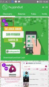 Tips ngumpulin Balance dari Aplikasi hujan duit