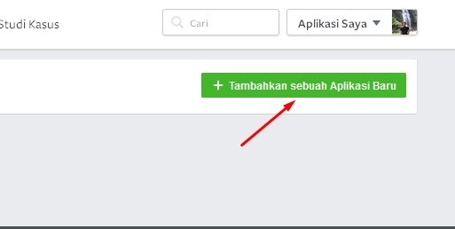 menambah aplikasi facebook